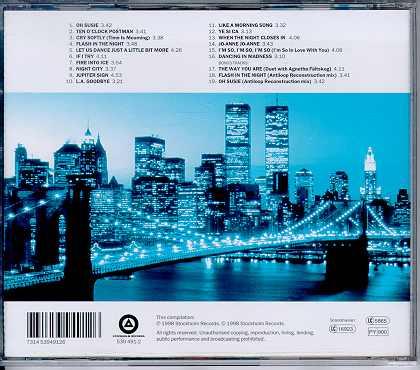 Back CD sleeve